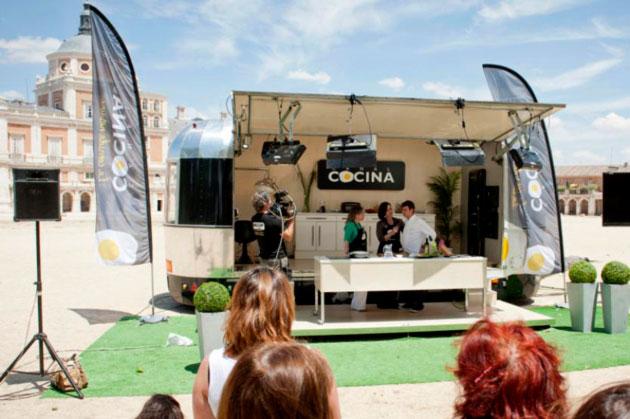 La caravana de canal cocina llega a aranjuez para grabar for Programacion canal cocina hoy