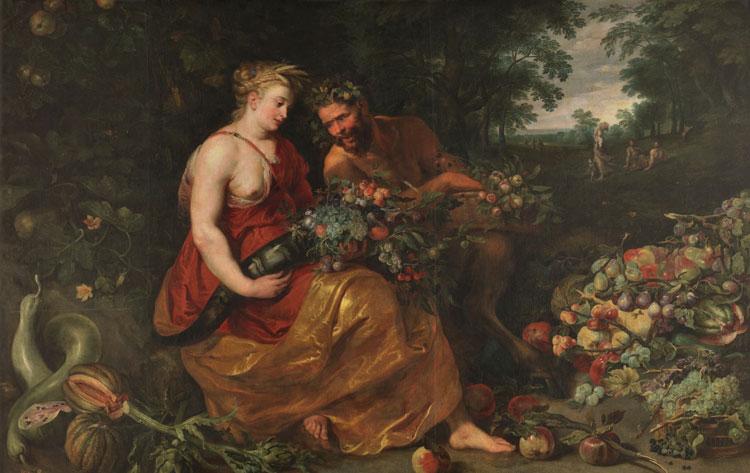 Ceres y Pan de Frans Snyders