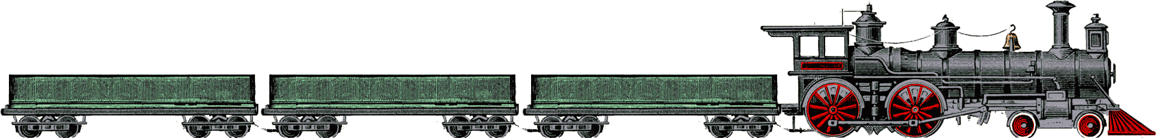 Tren con vagones