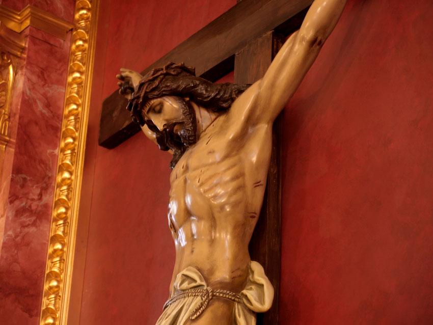 Cristo crucificado San Antonio